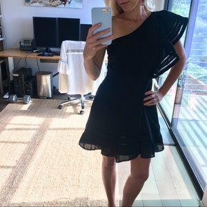 BB DAKOTA RSVP Black Cocktail Mini Dress Small NEW